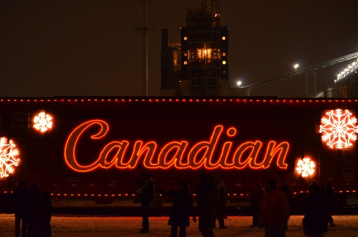 Canadian Pacific Holiday Train 1