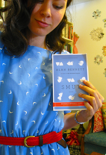 Tiffany Gibert of Books Matter Blog used our cover to pick out her outfit.