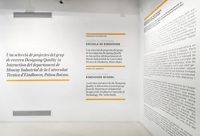 Diseños de sistemas. Escuela de Eindhoven at Disseny Hub Barcelona (DHUB) 6