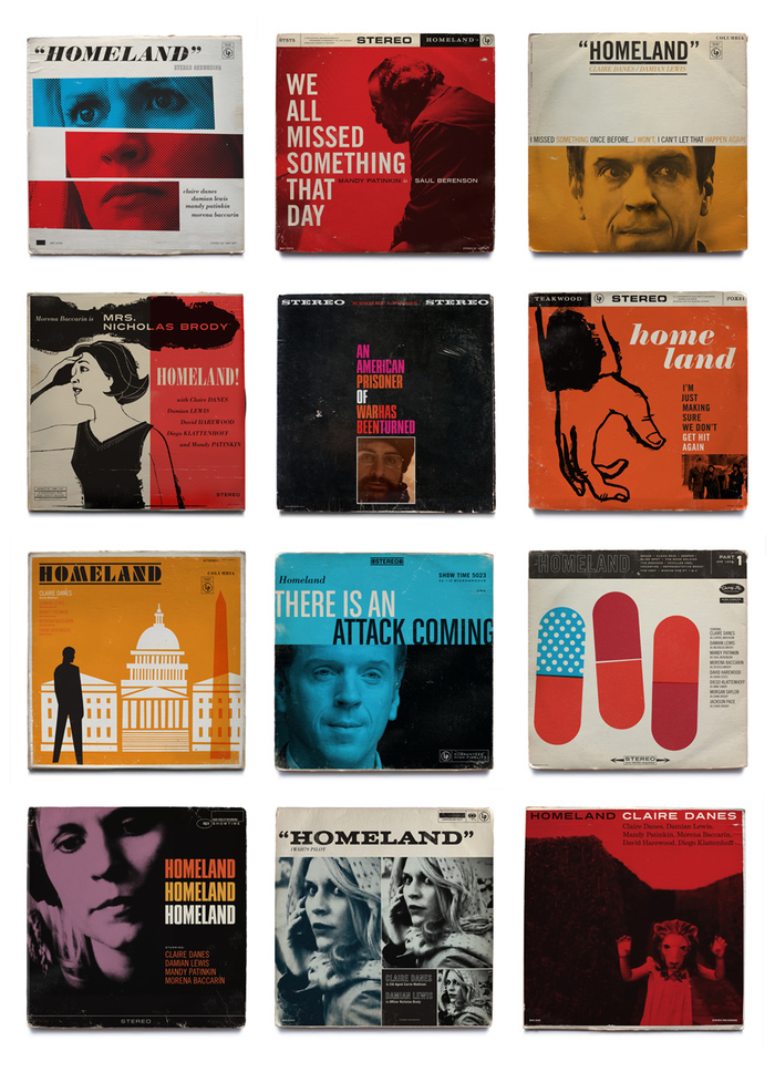 Homeland vintage jazz record covers 1