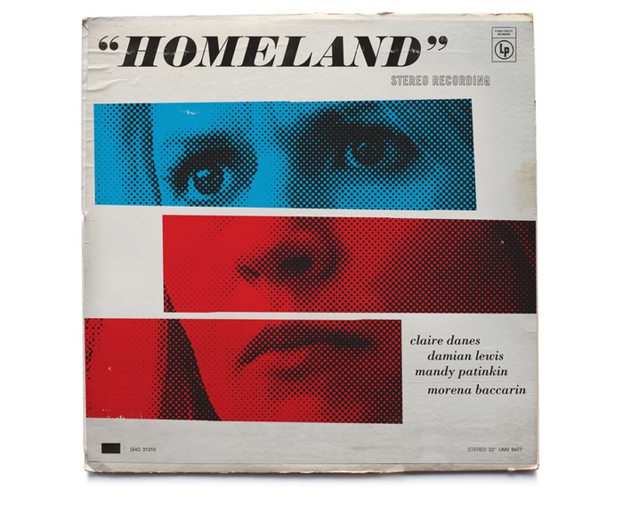 Homeland vintage jazz record covers 2