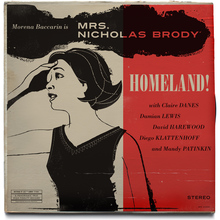 <cite>Homeland</cite> Vintage Jazz Record Covers