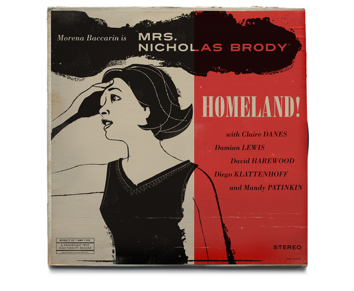 Homeland Vintage Jazz Record Covers 3