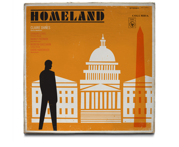 Homeland vintage jazz record covers 6