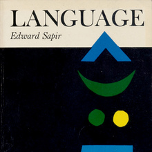 <cite>Language: An Introduction to the Study of Speech</cite> by Edward Sapir