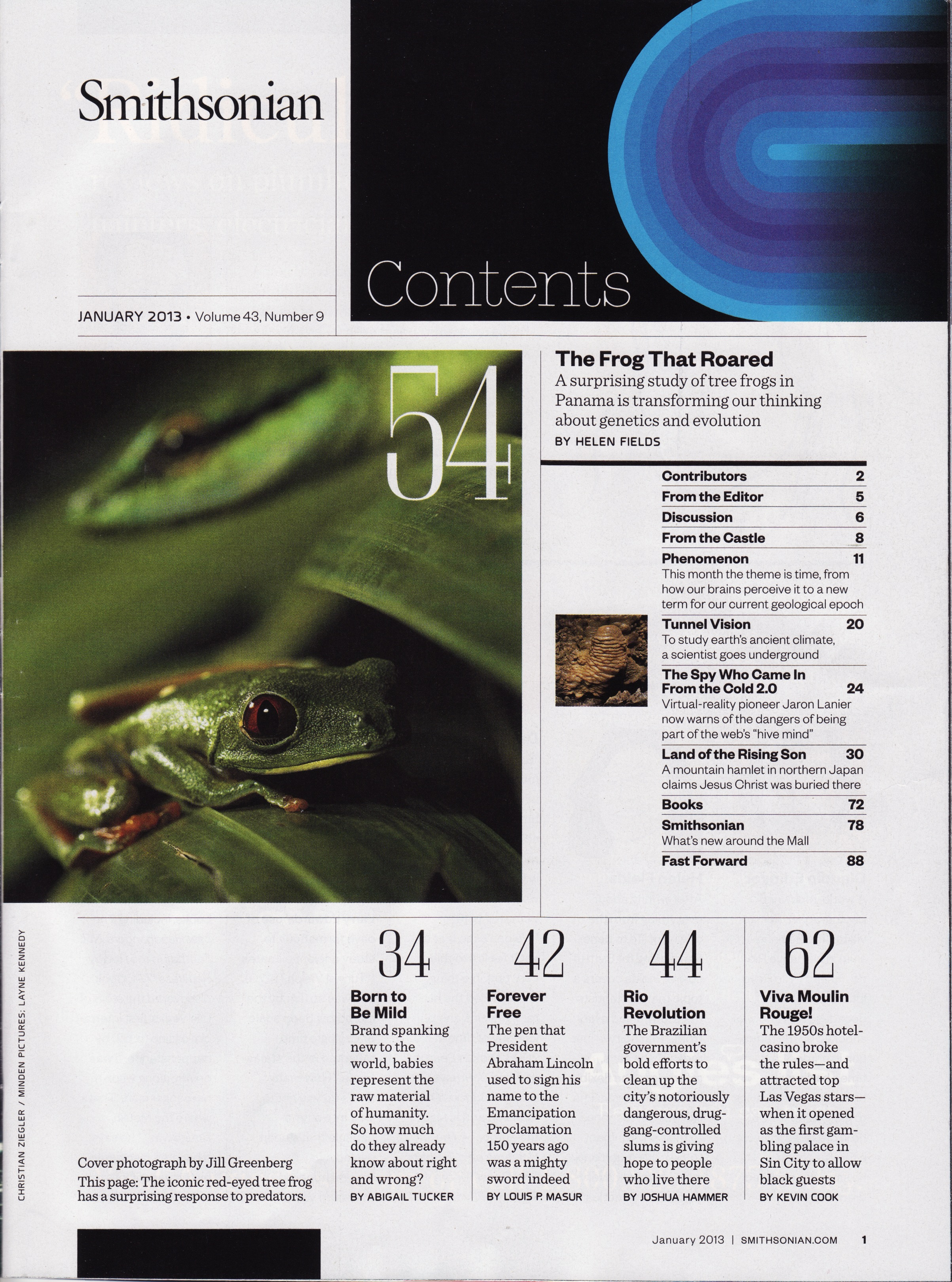 Smithsonian Magazine Table Of Contents 1989 2013 Fonts In Use