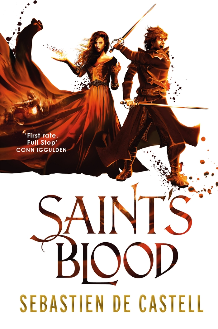 Saint's Blood, 2016 (hardcover)