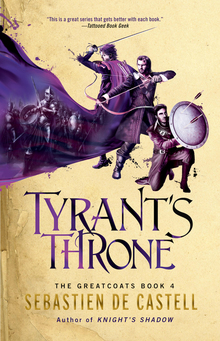 <span><cite>The Greatcoats</cite> fantasy book series, Vol.</span> 1–4