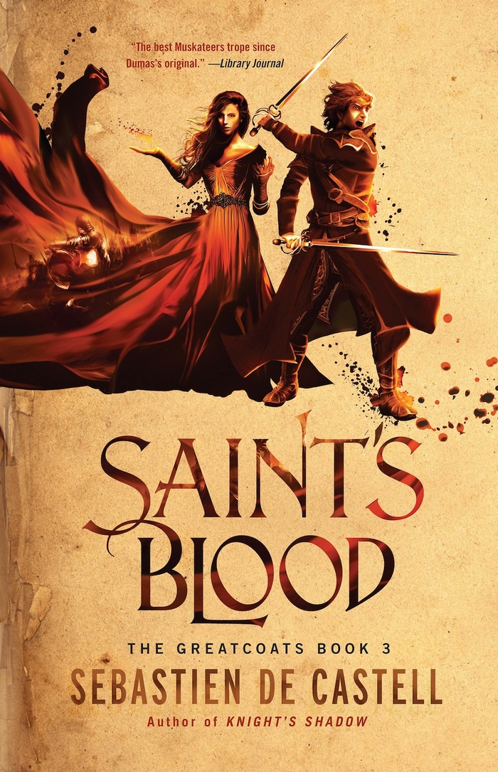 Saint's Blood, 2016 (paperback)