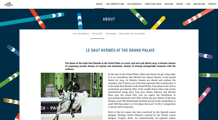 Saut Hermès au Grand Palais 2019 3