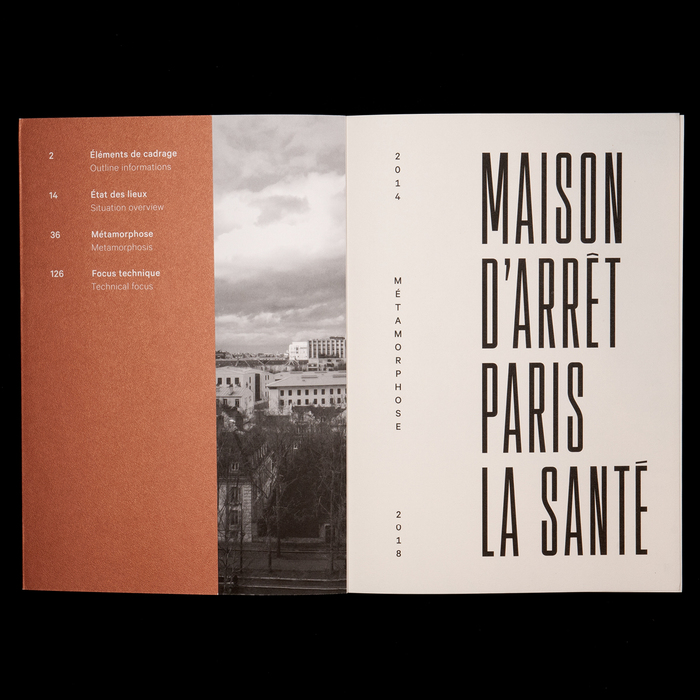 Maison d'arrêt Paris La Santé. Métamorphose 2014−2018 2