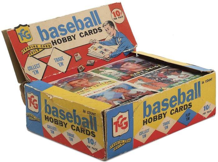 Topps baseball hobby cards (1960) 1