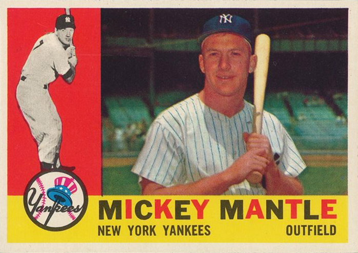 Mickey Mantle, 1931–1995.