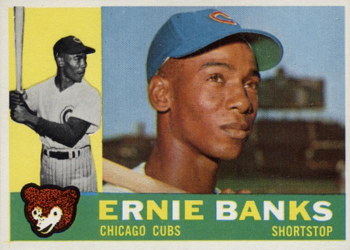 Ernie Banks, 1931–2015.