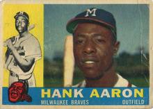 Topps baseball hobby cards (1960)