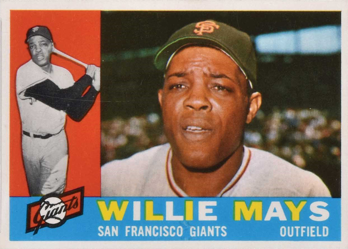 Willie Mays, b. 1931.