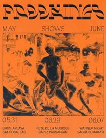 Freekings concert poster