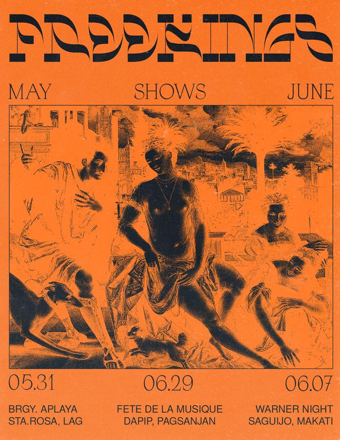 Freekings concert poster 1
