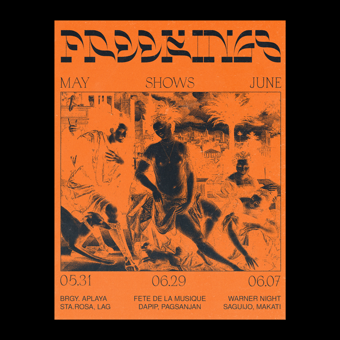 Freekings concert poster 2