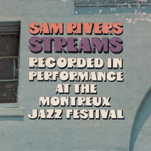 Sam Rivers – <cite>Streams</cite> album art
