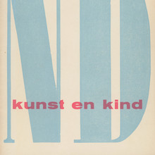 <cite>Kunst en Kind </cite>exhibition catalog