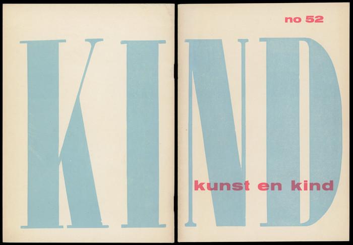 Kunst en Kind exhibition catalog
