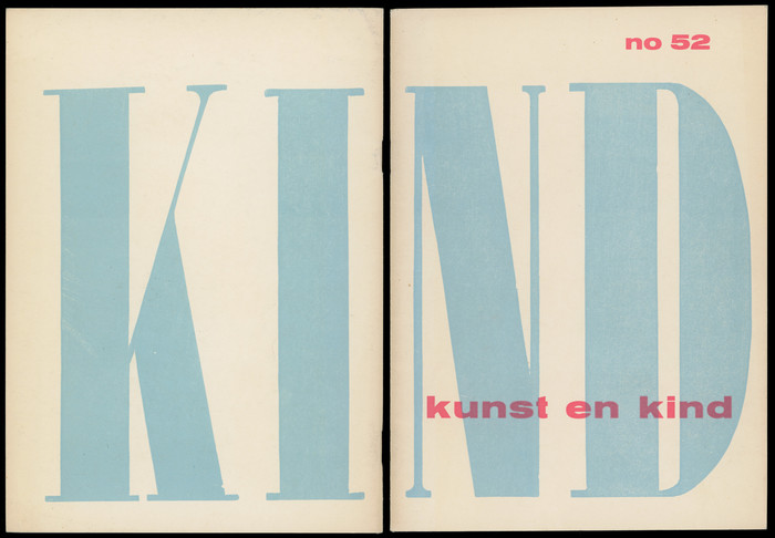 Kunst en Kind exhibition catalog