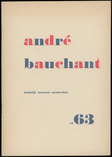 <cite>André Bauchant</cite> exhibition catalogue
