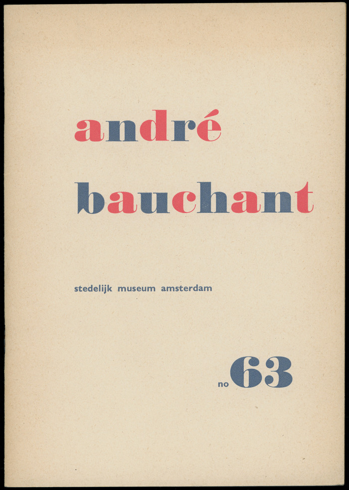 André Bauchant exhibition catalogue