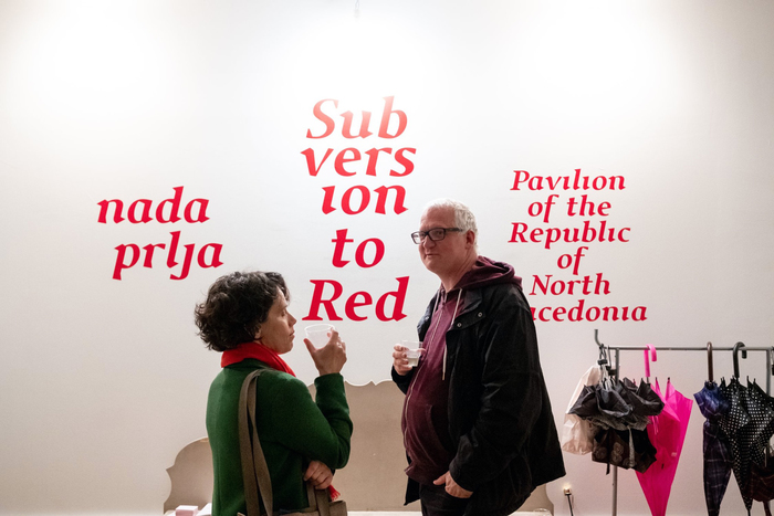 Subversion to Red by Nada Prlja. Pavilion of Macedonia, Venice Biennale 2019 1