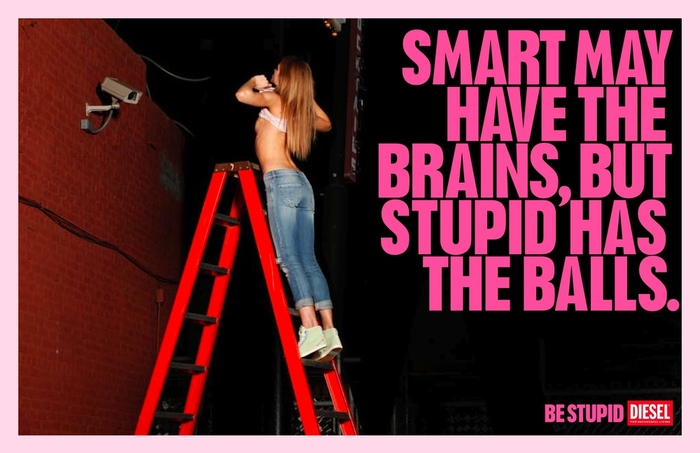 """""""Be Stupid"""" campaign by Diesel 4"""