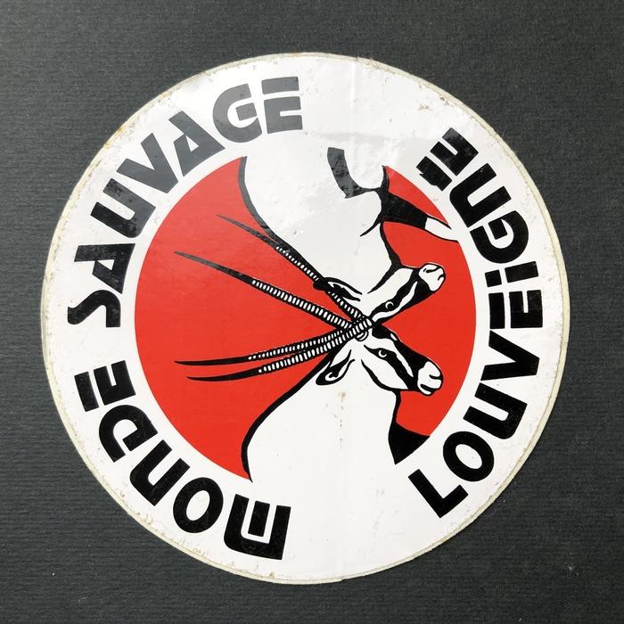 Monde Sauvage Louveigné sticker