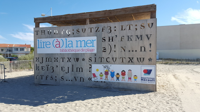 Beach Library, Montpellier 3