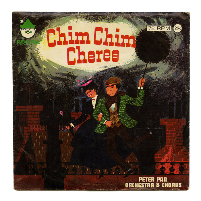 "Peter Pan Orchestra & Chorus – ""Chim Chim Cheree"" single cover"