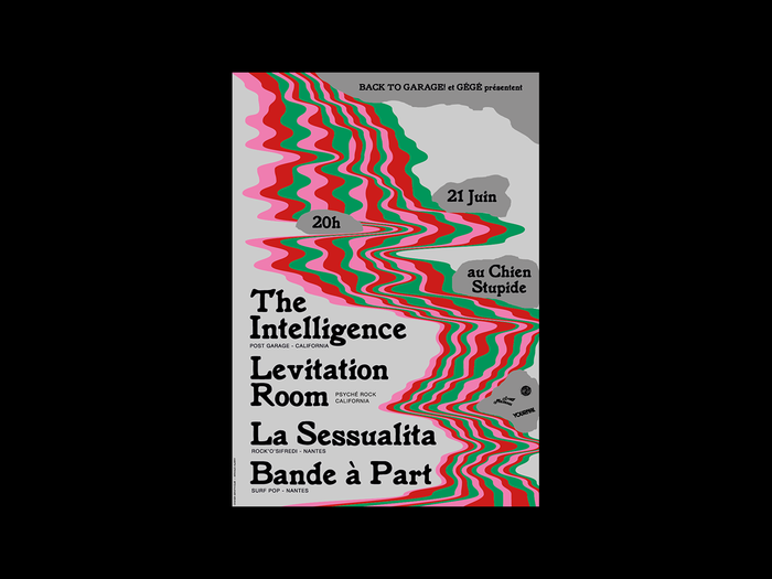 The Intelligence, Levitation Room, La Sessualita and Bande à Part 2