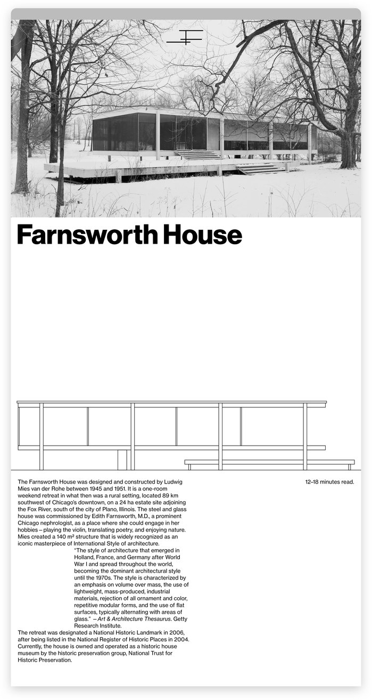 Farnsworth House 1