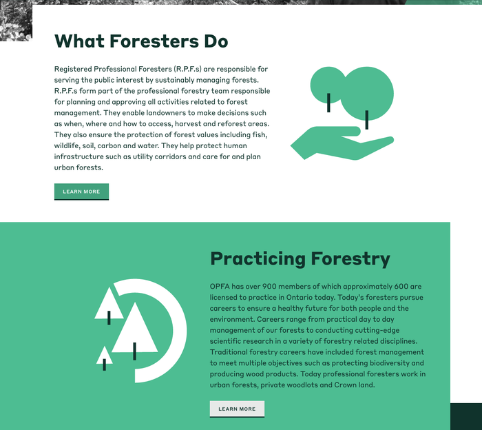 Ontario Professional Foresters Association (OPFA) 6