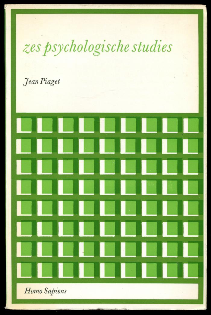 Jean Piagest: Zes psychologische studies, Deventer 1969.