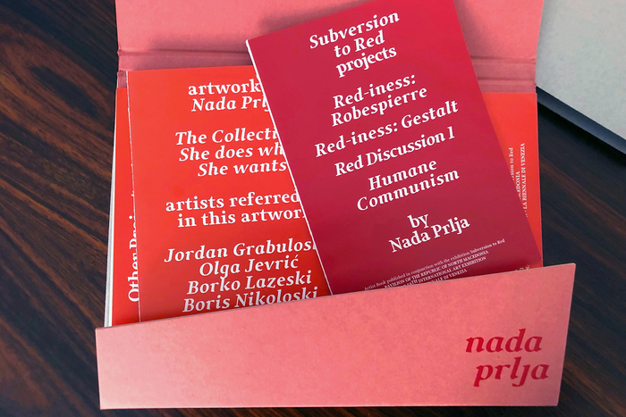 Subversion to Red by Nada Prlja. Pavilion of Macedonia, Venice Biennale 2019 8
