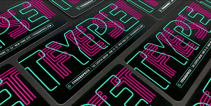 Typographics 2017 branding 2