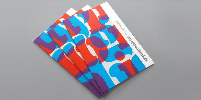 Typographics 2016 branding 2