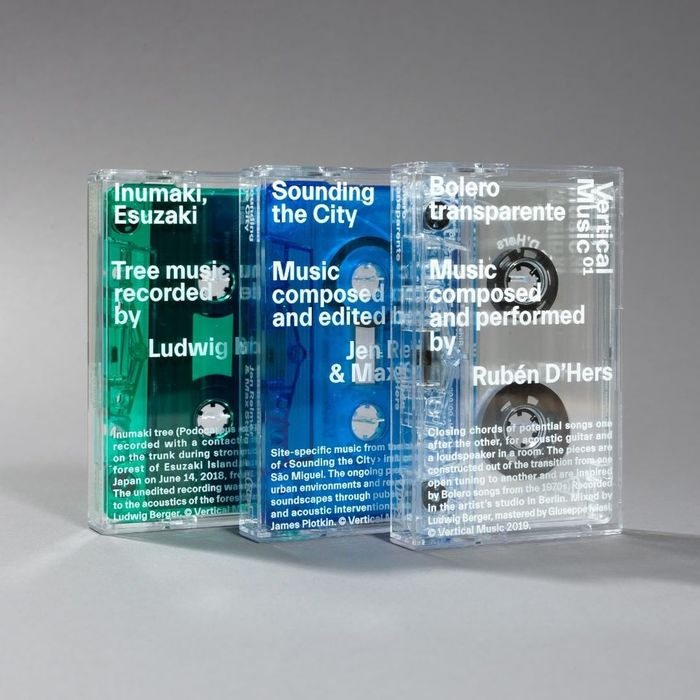 Vertical Music tape batch 01–03 1