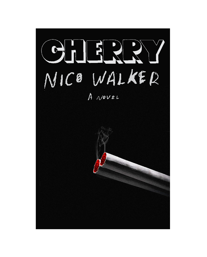 """After the cover designer ran into another dead end and the creative director suggested the job be given to a freelancer, Hansen drew new hope with this idea: """"I quite liked it, as did everyone here at Knopf—the dual suggestion of the cherry of a cigarette and also a gun."""""""