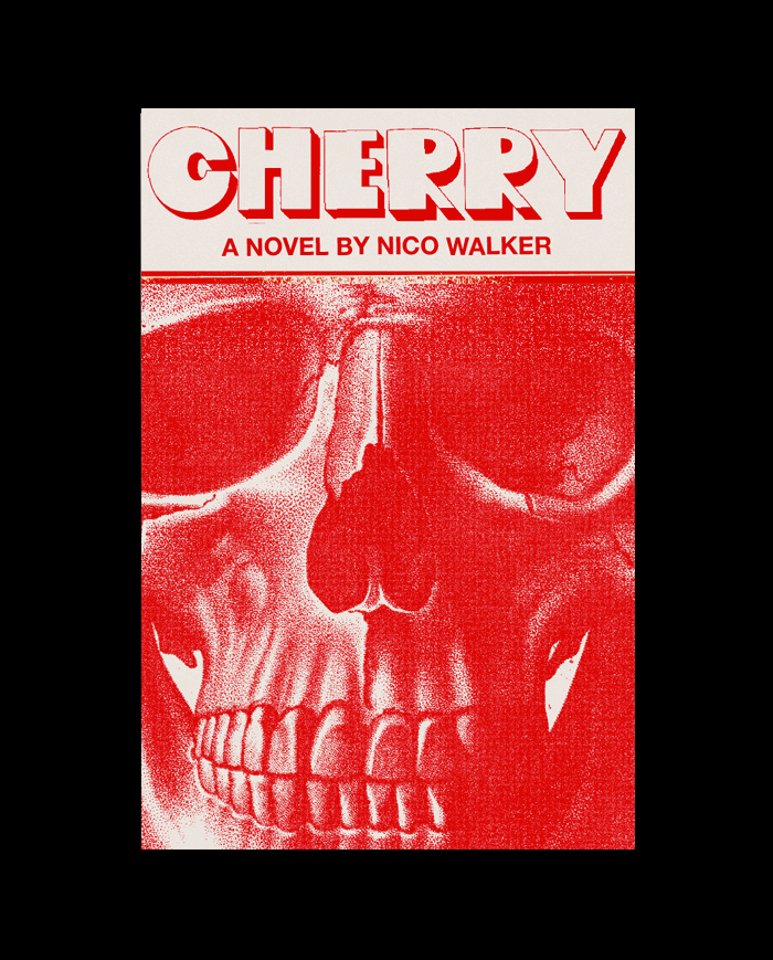 """The breakthrough? Almost. """"A skull is a good symbol for the book, but the first execution felt too predictable. This is when it dawned on me that there was an important aspect of the novel that I wasn't including in any of these jackets: the fact that it is uniquely American. I tried adding an American element."""""""