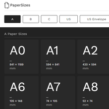 PaperSizes.io