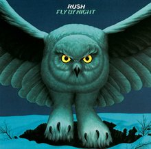 Rush – <cite>Fly by Night </cite>album art