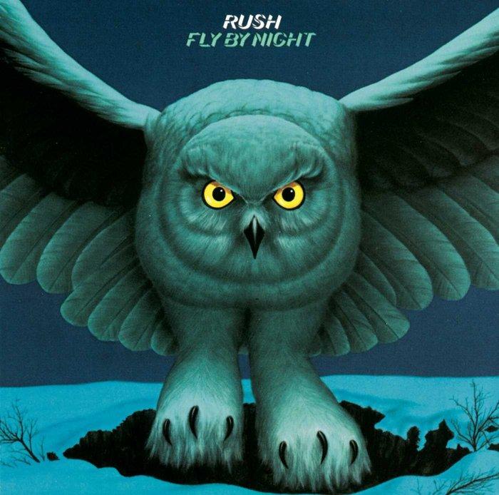 Rush – Fly by Night album art