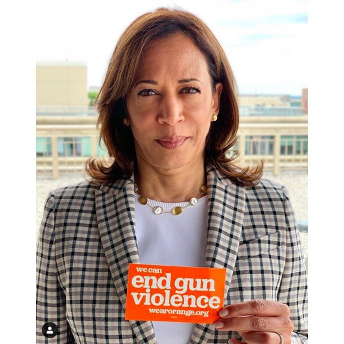 Kamala Harris and several other 2020 presidential candidates have expressed their support for gun safety.