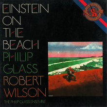Philip Glass &amp; Robert Wilson – <cite>Einstein On The Beach </cite>album art