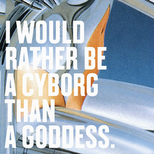 """I Would Rather Be a Cyborg Than a Goddess"""